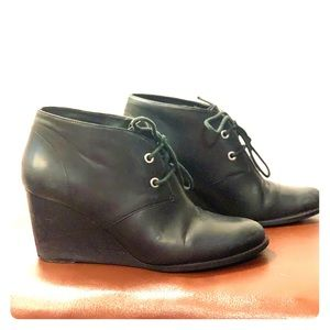 Cole Haan wedge booties